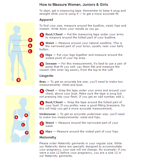 african clothing - measure guide