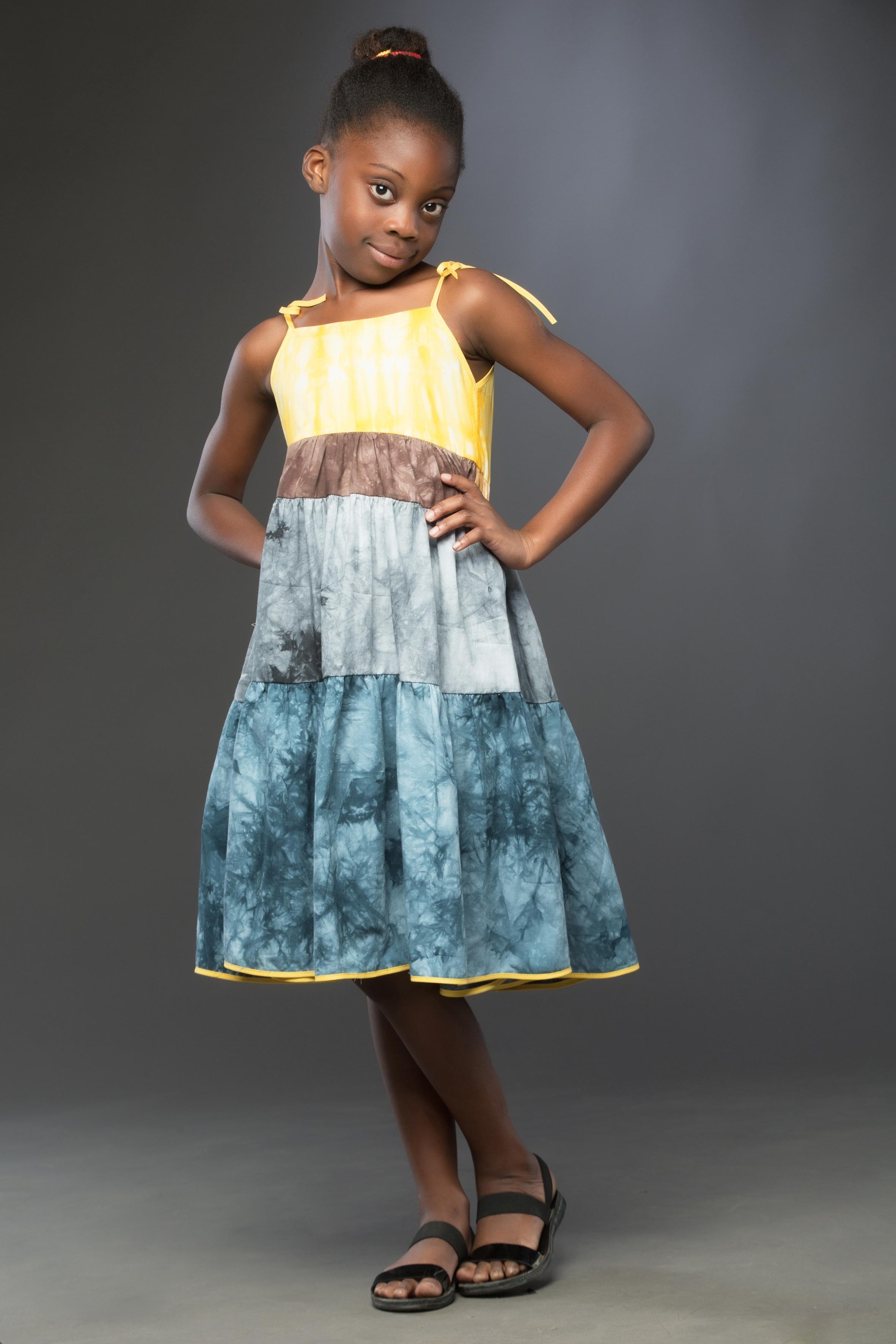 Indigo Dress by Nadia Druide