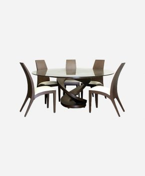 Comfort Five Seater Dining Set by Looking Good Furniture